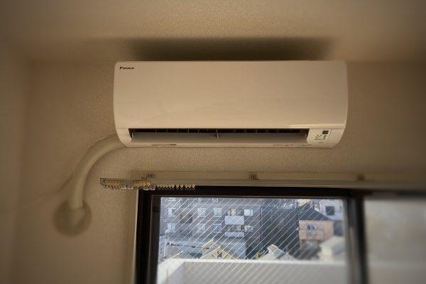 エアコンの取り付け工事👷🏻♂️
